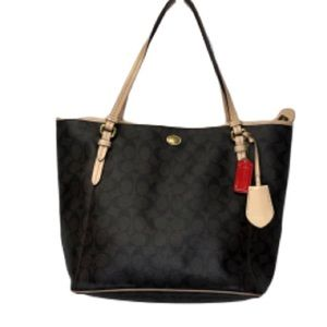 Coach Signature Brown Shoulder Bag